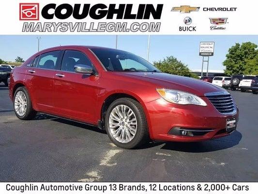 2012 Chrysler 200 Limited Columbus Oh Ohio Ohio 1c3ccbcb7cn308484